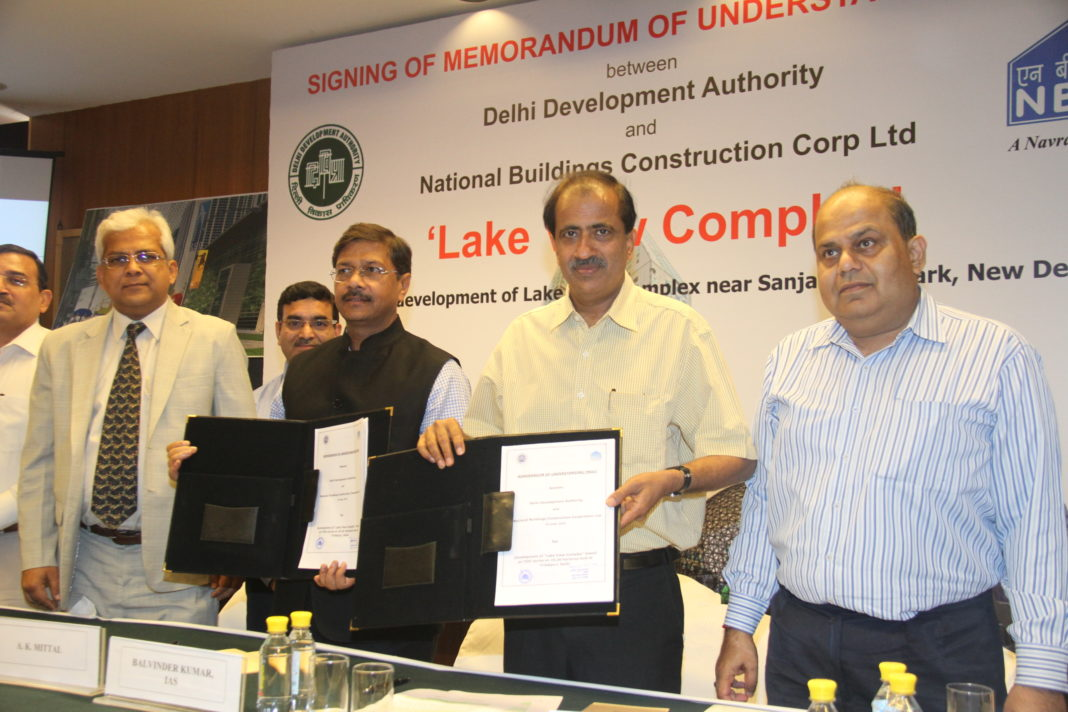 Dda Signs Agreement With The Nbcc For Three Mega Projects
