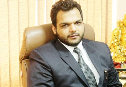 Mr Abhishek Goyat Managing Director Antriksh Group