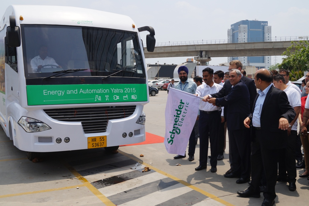 Schneider launches energy and automation yatra 2015 16 - Schneider electric india offices ...