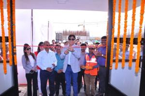 Prashant Tiwari, Chairman, Prateek Group innaugurated 'Training and Assessment of Construction Workers