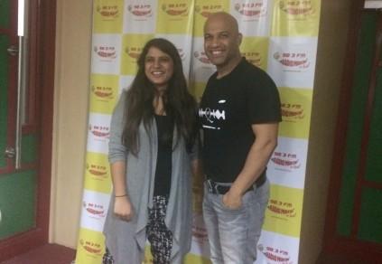 Gitanjali Babbar with Honey Katiyal, CEO-Investors Clinic