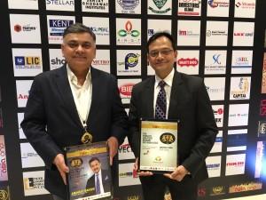 Mr. Vineet Nanda, President-Sales & Marketing Central Park with Mr. Paul Bhaswar-Head, International Sales