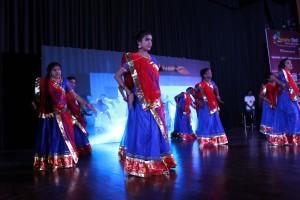 Students of Mata Bhagwanti Chadha Niketan Performing at the Function