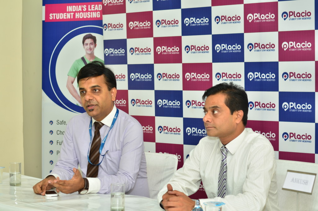 Rohit Pateria & Ankush Arora - Founders  of Placio launching Placio Property at Greater Noida
