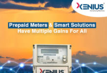 Xenius Prepaid meter