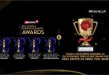 Raheja Awarded